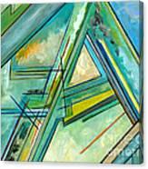Interior Designers Abstract Lines Art Decorative G88gle Map Print Canvas Print
