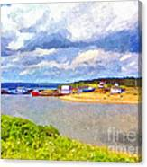 Gabarus Cape Breton Nova Scotia Fishing Village Canvas Print