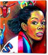 Gabby Douglas Canvas Print