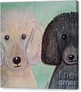 Gabriel And Belle Canvas Print