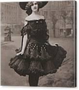 Gabrielle Ray Ca.1905 Canvas Print