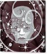 Galactic Face Canvas Print