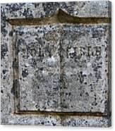 Galatians 5 22 Canvas Print