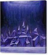Galaxy City Canvas Print