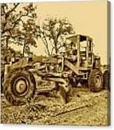 Galion Road Grader V2 Canvas Print