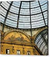 Galleria In Milan I Canvas Print