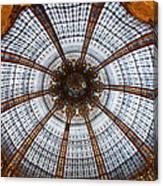 Galleries Laffayette Paris France Canvas Print