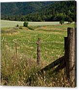 Galls Creek Farm Scene Canvas Print