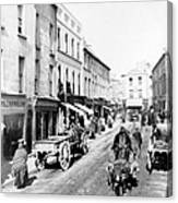 Galway Ireland - High Street - C 1901 Canvas Print
