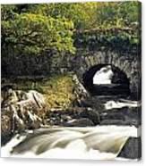 Galways Bridge, Killarney National Canvas Print