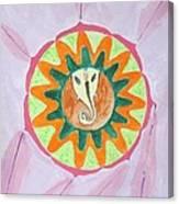 Ganesh Mandala Canvas Print