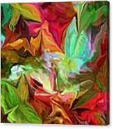 Garden Abstract 072312 Canvas Print