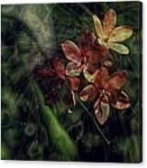 Garden Abstract 6 Canvas Print