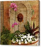 Garden Deco Canvas Print