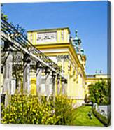 Garden Entry Wilanow Palace - Warsaw Canvas Print