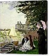 Garden House On The Zaan - Zaandam Canvas Print
