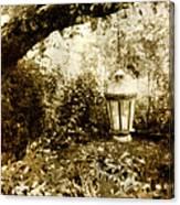 Garden Lantern Canvas Print