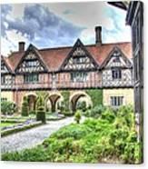 Garden Of Cecilenhof Palace Germany Canvas Print