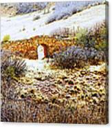 Garden Of The Gods - Bridge Panorama Canvas Print
