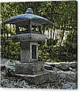 Garden Pagoda Canvas Print