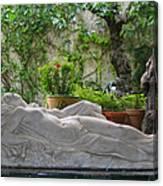 Garden Repose Canvas Print