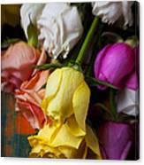Garden Roses Canvas Print
