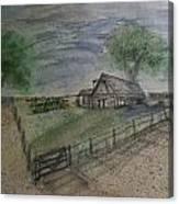 Garden Spot  Canvas Print