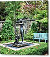 Garden Statuary Canvas Print