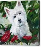 Garden Urn Canvas Print