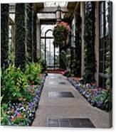 Garden Walk Ll Canvas Print