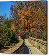 Garden Walk Way Canvas Print