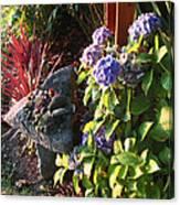 Garden Zen Art Canvas Print