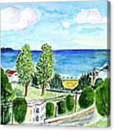 Gardeno Beach Canvas Print