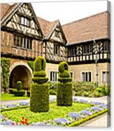 Gardens At Cecilienhof Palace Canvas Print