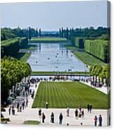 Gardens At Palace Of Versailles France Canvas Print