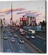 Gardiner Expressway Toronto Canvas Print