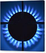 Gas Flame Canvas Print