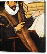Gaspare Tagliacozzi, Italian Surgeon Canvas Print