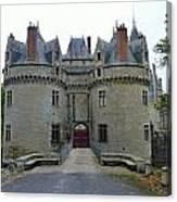Gate To Chateau De La Bretesche Canvas Print