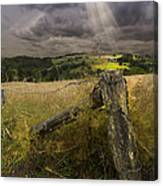 Gate To Heaven Canvas Print