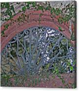Gate To The Courtyard Canvas Print