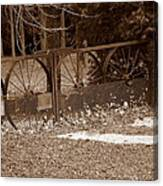 Gate To The Past Canvas Print