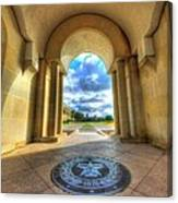 Gateway To A New Life Canvas Print