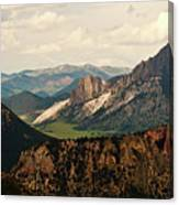 Gateway To Yellowstone National Park Canvas Print