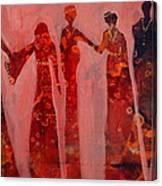 Gathering Of Women Canvas Print