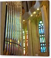 Gaudi's Vision Canvas Print