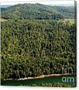 Gauley River Aerial View Canvas Print