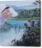 Gaurdian Angel Canvas Print