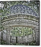 Gazebo At Longwood Gardens Canvas Print