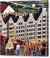 Gdansk Granaries Canvas Print